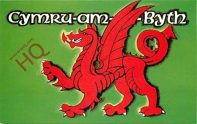 Picture Postcard--Welsh Dragon