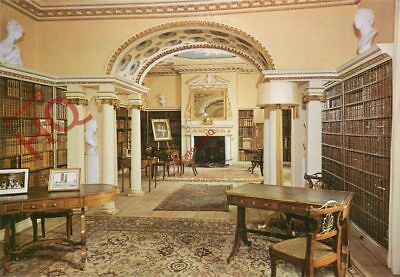 Picture Postcard--Shugborough, The Library