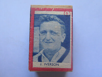 JACK IVERSON on YACHT BOX of SAFETY MATCHES UNUSED CONDITION AUSTRALIAN c1950