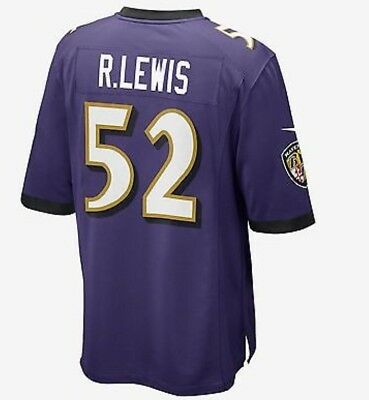 Nike NFL Baltimore Ravens Men's Football Jersey - Ray Lewis