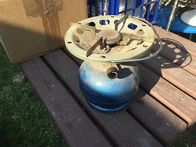 Primus Gas Camp Stove Single Ring Working