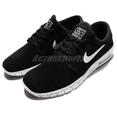 Nike Stefan Janoski Max L Black White Men SB Skateboarding Shoes 685299-002