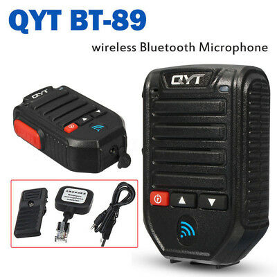 BT-89 Wireless Bluetooth Microphone For QYT KT-7900D KT-8900D Car Mobile Radio