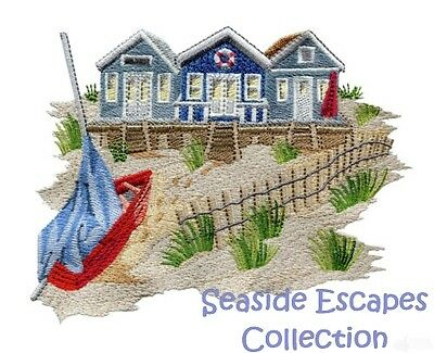 Seaside Escapes Collection - Machine Embroidery Designs On Cd