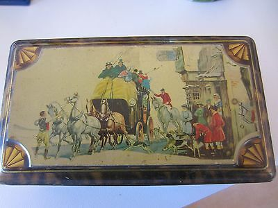 The Three Horse Shoes Vintage Tin