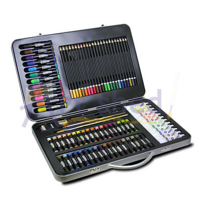 Mont Marte Studio Essentials Mixed Media Art Set 90pce - in metal case