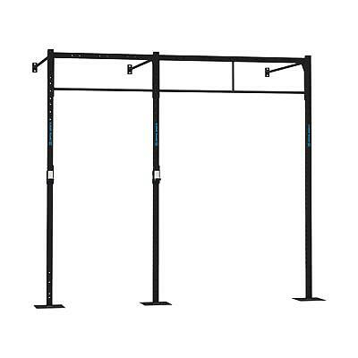 Wall Mount Rack 3Pu Station Stazioni Stazione Squat Allenamento Funzionale Cross