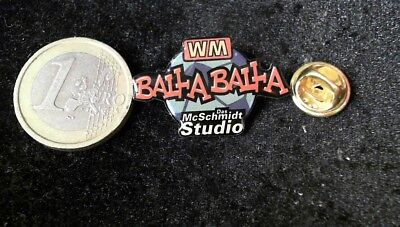 McDonalds Mc Donalds MCD Pin Badge WM WorldCup Bla Bla McSchmidt Studio