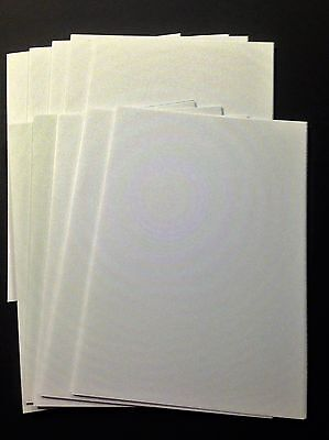10 Blank White A6 Cards (105mm x 148mm) and C6 Envelopes (114mm x 162mm)