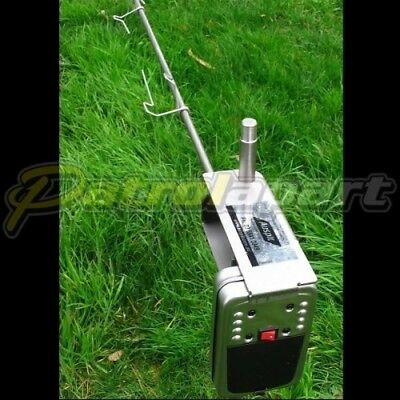 Auspit Stainless Steel Rotisserie Spit Kit for Camping & 4wding ( AUSAUS )