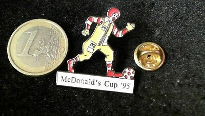 McDonalds Mc Donalds MCD Pin Badge Ronald MC Donalds Cup 1995 Football