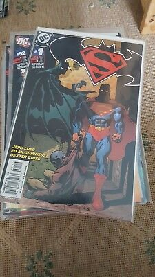 Superman/Batman comics #1-#50 - mint condition