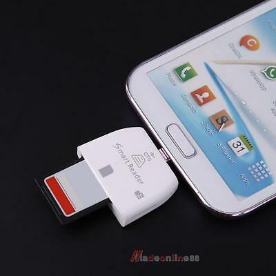 Portable 2-in-1 Micro USB OTG Adapter Micro SD TF Card Reader for Android Phone