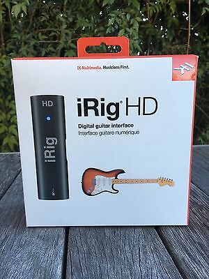IK Multimedia iRig HD High Quality Guitar Interface for iDevices UNWANTED GIFT
