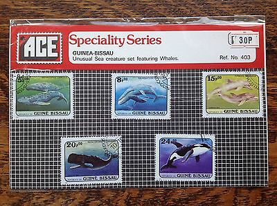 ACE Stamps Guinea-Bissau Pack No.403 Whales