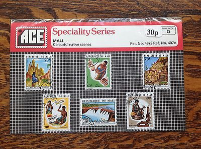 ACE Stamps Mali Pack No.4373 Native Scenes