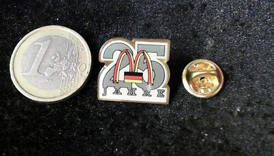McDonalds Mc Donalds MCD Pin Badge 25 Jahre Years Germany