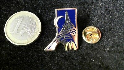 McDonalds Mc Donalds MCD Pin Badge Paris France Frankreich Eifelturm Tour Eifel