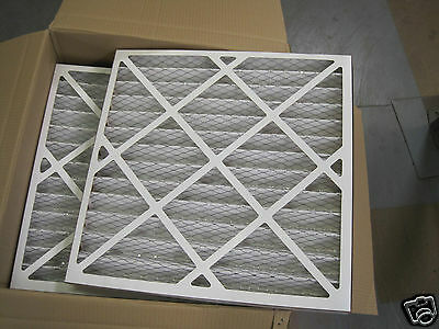 Pleated Panel Filter G4 Grade 595x595x45mm 24x24x2 Filtration Grease Dust Fumes