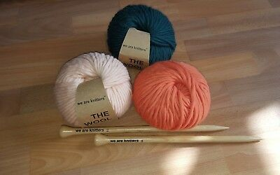 we are knitters Wolle