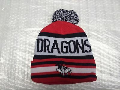 St George Dragons nrl beanie hat rugby league
