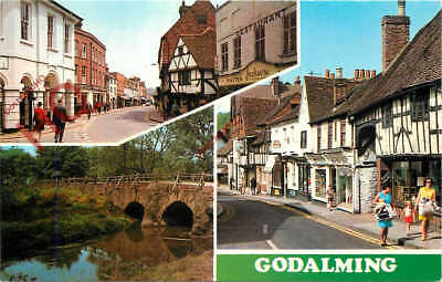 Picture Postcard; Godalming (Multiview) [Colourmaster]