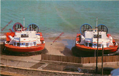 Picture Postcard, HOVERCRAFT, HOVERTRAVEL TERMINAL, RYDE, ISLE OF WIGHT