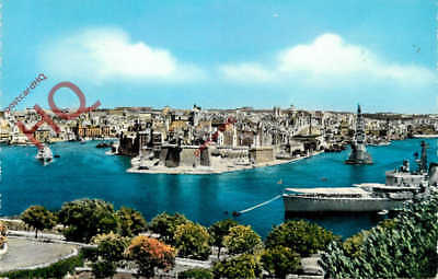 Picture Postcard, Malta, Grand Harbour