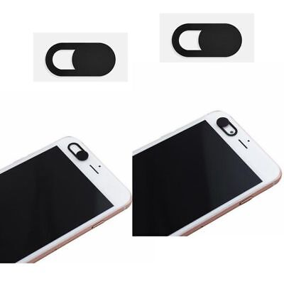 3x WebCam Shutter Cover Web Laptop iPad Camera Secure Protect your Privacy Black