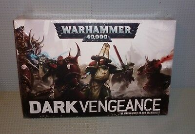 "WARHAMMER 40K ""Dark Vengance"" Starter Set, Shop Sealed Games Workshop new 2013"