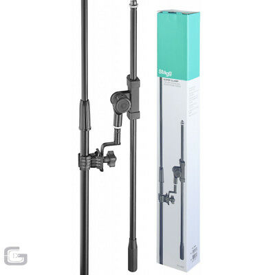 Stagg SCL-MIBS Universal DJ Music Instrument Microphone Boom Arm With Clamp