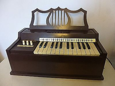 Vintage Rosedale  Electric Chord Organ Model 615 -  1960s Retro Child's Organ