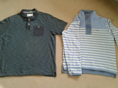 2 used mens tops size S FAT FACE