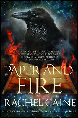 Paper and Fire (Novels of the Great Library), New, Rachel Caine Book