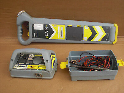 Radiodetection e Cat 4+ cable Avoiding New Genny spx eCat 4 Plus cable locator G
