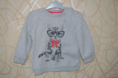 Pull sweat gris chiné 12 -18 mois KB