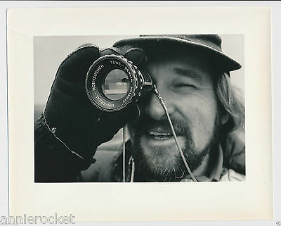 "Norman Jewison-CBC Canada 8"" x 10"" Black & White Press Photo-#246-1971"