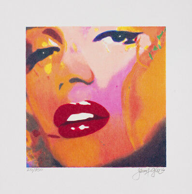 James Francis Gill - MINI MARILYN 2 - 2016, Pop Art Grafik