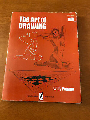 The Art of Drawing by Willy Pogany (English) Paperback Book 1972 1974 1976 1946