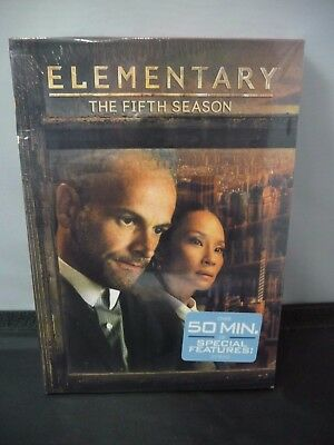 Elementary: The Fifth Season 5 (DVD, 2017, 6-Disc) BRAND NEW