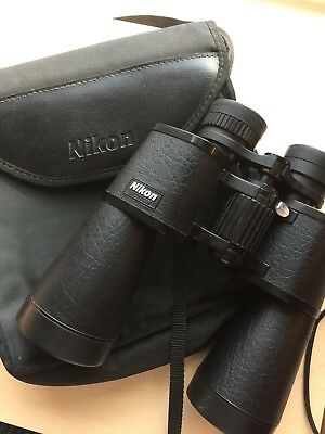 Nikon 10x50 BINOCULARS with CARRYING CASE, USED-EXCELLENT CONDITION
