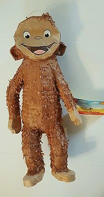 Curious George Monkey Pinata Game Party Supplies Kids Birthday Decoration