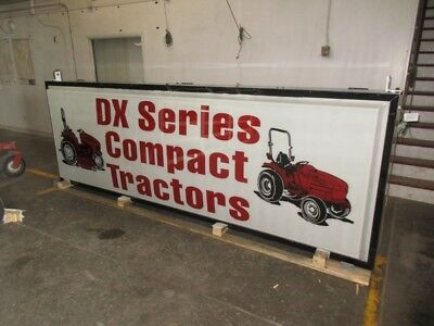 Case IH DX Series Tractor Lighted Sign