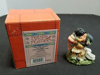 Enesco Friends Of The Feather 2000 Your Little Journey's Just Begun Figurine