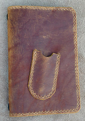Golf Score Card Cover/Holder, Handcrafted Leather