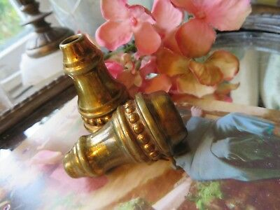 Super Little Pair Of Vintage French Light Or Curtain Pulls ~ Period Interior