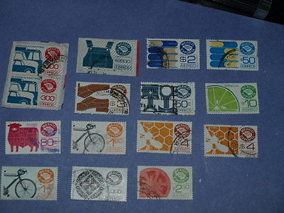 15 mexico stamps