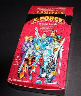 Lot of 290+ X-Force Cards 1991  + Original Box The Beginning of the End