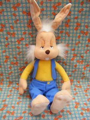 """Magic Round About Talking Dylan Rabbit Soft Toy Plush 20"""" approx"""