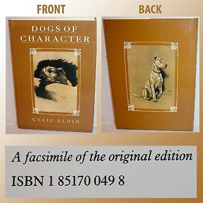 Dogs Of Character Book By Cecil Alden Hard Cover W/ Dust Cover